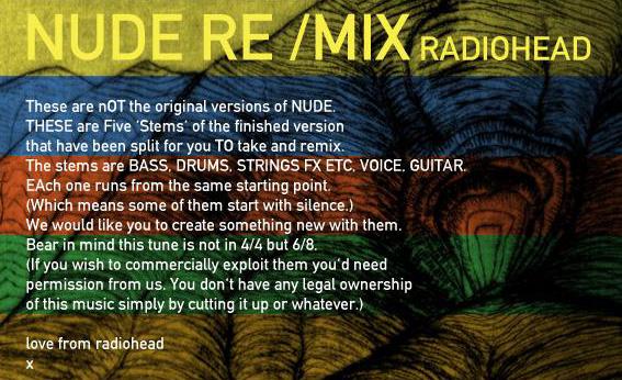 Big ideas nude radiohead right!