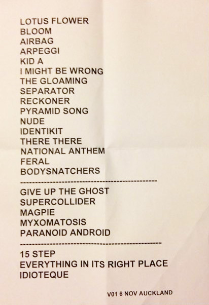 November 6th 2012 promotionsetlists click for full size mightylinksfo